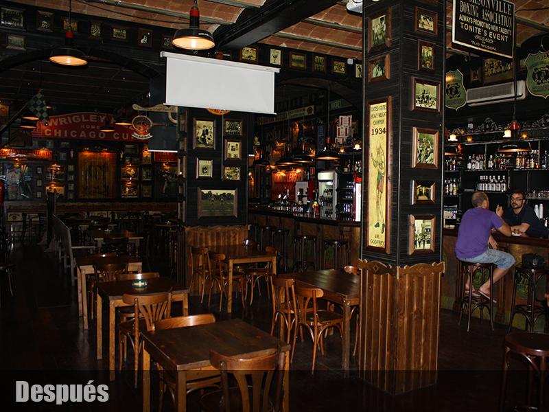 Americano deportes decoracion de bares tematicos for Decoracion bares tematicos