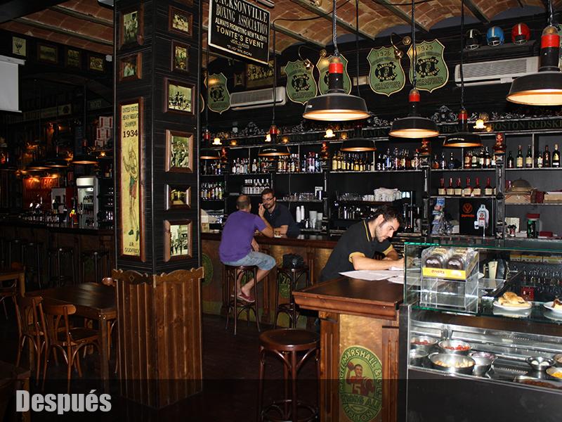 Americano deportes decoracion de bares tematicos - Decoracion bares tematicos ...