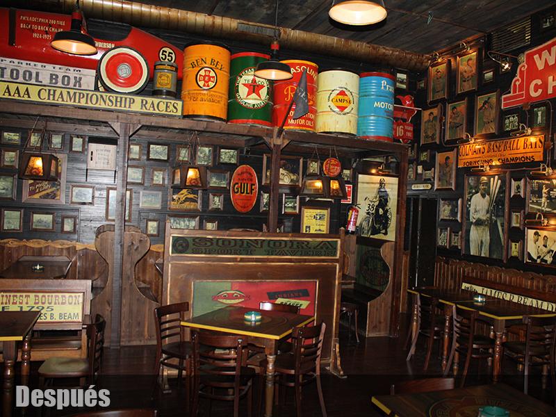 americano deportes decoracion de bares tematicos