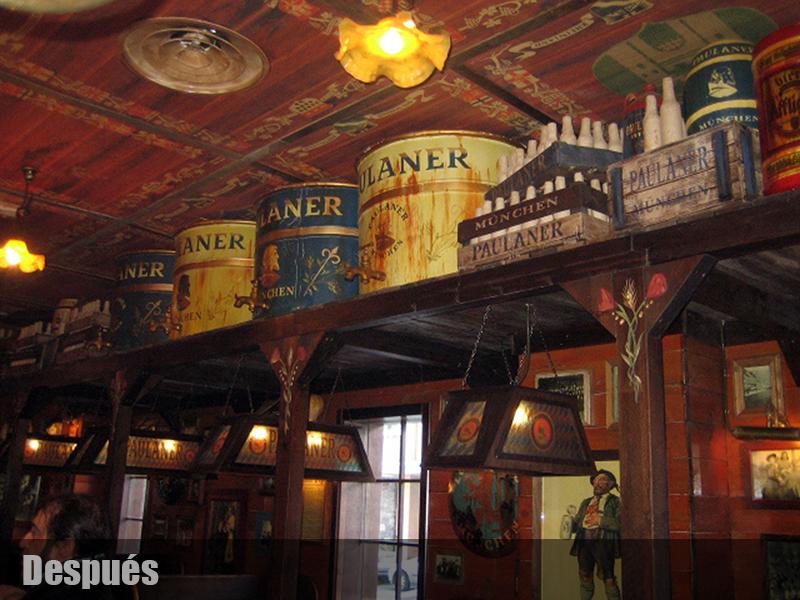 Cerveceria alem n decoracion de bares tematicos - Decoracion bares tematicos ...
