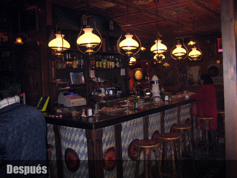 Cerveceria alem n decoracion de bares tematicos for Decoracion bares tematicos