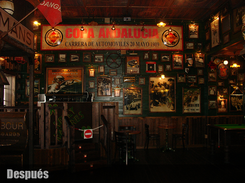 Deportes decoracion de bares tematicos - Decoracion bares tematicos ...
