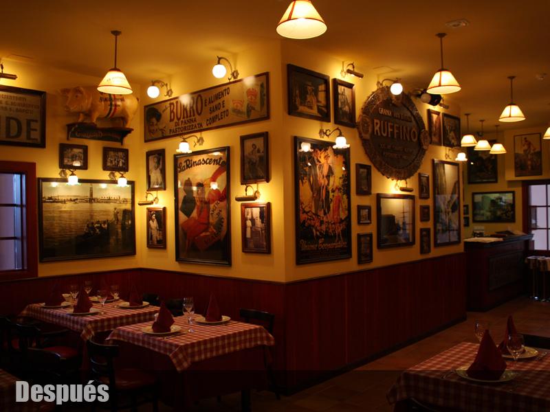 Decoracion de bares tematicos for Decoracion pizzeria